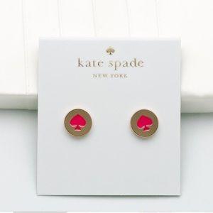 NWT Kate Spade Classic spade earrings